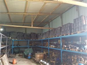 Komatsu engines parts. Pistons Cylinder head. Sleeves