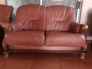 Beautiful Leather Couches