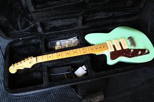 Reverend Jetstream 390 - Left Hand - Electric Guitar - Oceanside Green