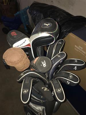 Left Handed golf set Tailormade