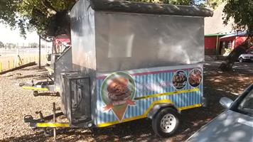 FOOD STAND MOBILE KITCHEN EXTRAS R 34,999.00 WITH EQUIPMENT R 28,999.00