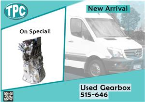 Mercedes Benz Sprinter Used Gearbox 515-646 for sale at TPC