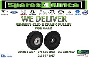 RENAULT CLIO 2 CRANK PULLEY FOR SALE