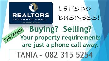 PROPERTY WANTED!