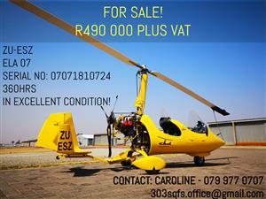 Excellent Ela 07 Gyrocopter