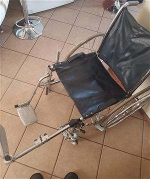 Wheelchair & crutch for sale excellent condition