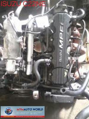 Imported ISUZU/CHEV 2.2L OMEGA, C22NE ENGINE. Complete second hand used engine