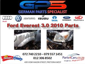 Ford Everest 3.0 TDCI 2010 Replacement Parts for Sale