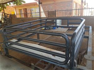 Cattle rail for 2008 Mazda BT50 Super Cab for sale