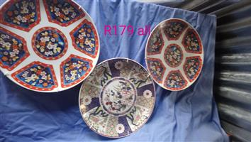 Floral decorative plates for sale