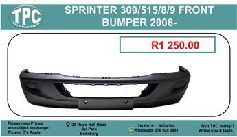 Merc Sprinter 309/515/8/9 Front Bumper For Sale