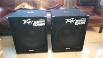 Peavey 118D POWERED bass bins