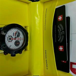 Brand new Swiss Military Rallye watch, box and manual, guarantee card