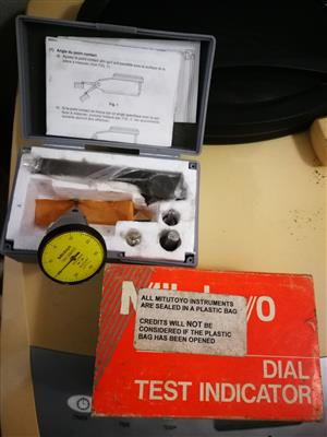 Multimeters, dial indicators, for sale