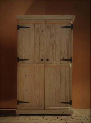 Kitchen Cupboard Farmhouse series Free standing 1800 with 2 doors standard