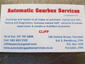 AUTOMATIC GEARBOX SERVICE PTY LTD FOR SALE