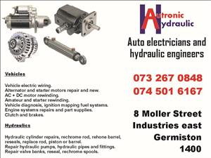 REPAIRS; Forklifts, Autos,Trucks, Hydraulics, Transmissions,Hydraulic Pipes, Control Valves, Powerpacks. Diesel Engines.