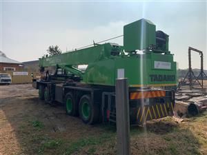 50 Ton mobile crane