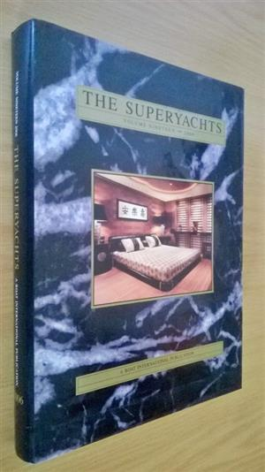 The Super yachts.400 Pages.Hardcover. A international publication.  The Yachts. Adele Asean lady. Athena. Canica. Acstasea. Flying eagle.