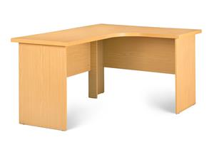 Melamine Cluster workstation! Natural Oak.
