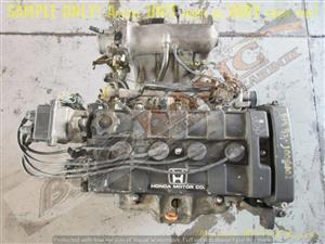 HONDA BALLADE -B18B2 1.8 DOHC EFI 16V Engine
