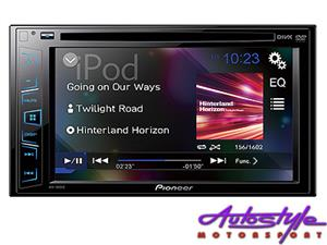 Pioneer AVH-195DVD 6.2 inch Double Din DVD Receiver