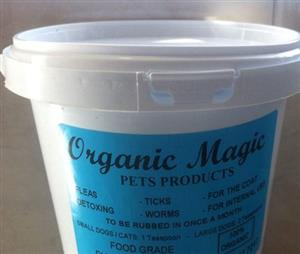 Organic Magic Deworming, Flea and Tick Powder