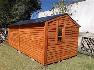 1.5m x 1.5m wooden w