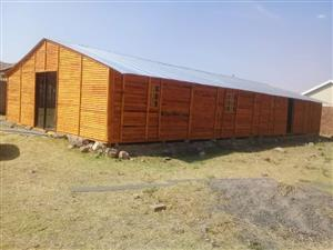Discounted Wendy houses and log homes.