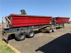 Side tipper trailers sale