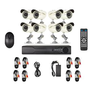 8 Channel CCTV Security Camera System DVR Kit with Internet 3G Phone Viewing and HDMI (8ch)