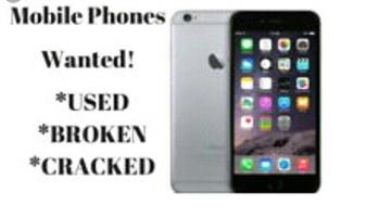 Broken phones wanted for cash