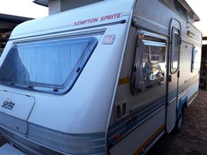 sprite sport with full tent and big fridge and freezer