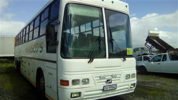 Man 65 seater with tag axle for sale