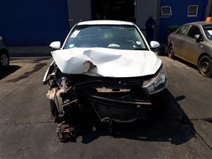 2017 Kia Rio hatch 1.2 Accident Damaged