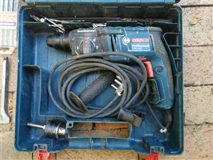 Bosch SDS Rotary drill with extras