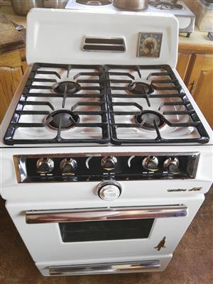 Univa jet gas stove and oven