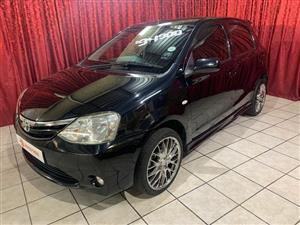 2012 Toyota Etios hatch 1.5 Xs Sport