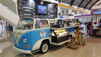 Mobile  Coffee shop Kombi Cafe