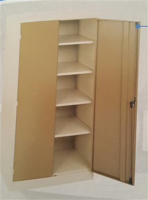 Steel stationery cupboard  reject