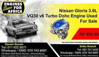 Nissan Gloria 3.0L VQ30 v6 Turbo Dohc Engine Used For Sale