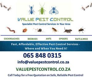 Pest Control Johannesburg