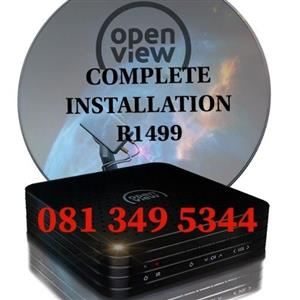 Openview installation and Services