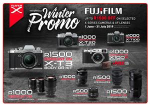 Fujifilm camera & lenses promotion