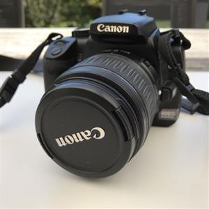 Canon EOS 400D Lens Bundle