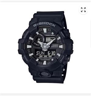 Watch G-Shock GA-700 1BDR  1 Month old - Unworn