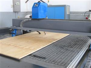 R-2030LK/75V EasyRoute 380V Lite 2050x3050mm PVC Clampable Vacuum CNC Router, 7.5kW High