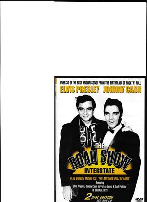 The Road Show Interstate - Elvis Johnny Cash -1 DVD and 1 Audio DVD