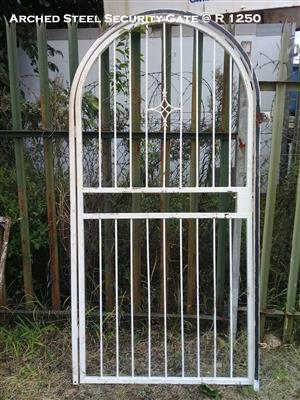 Arched Steel Security Gate