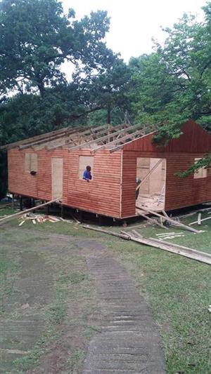 Build log home
